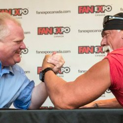 Rob Ford; Hulk Hogan