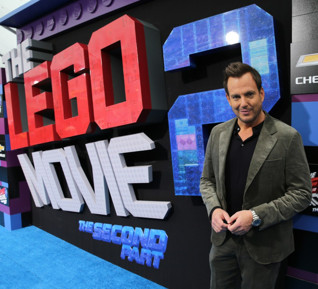 """Will Arnett at the premiere of """"The Lego Movie 2: The Second Part"""" in Westwood, California. Arnett voices Batman in the """"Lego"""" movies."""