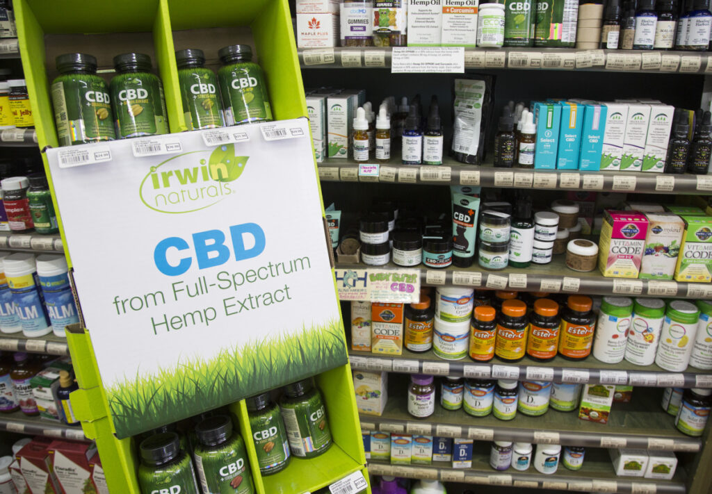 CBD foods sold in Maine must be made with locally grown hemp