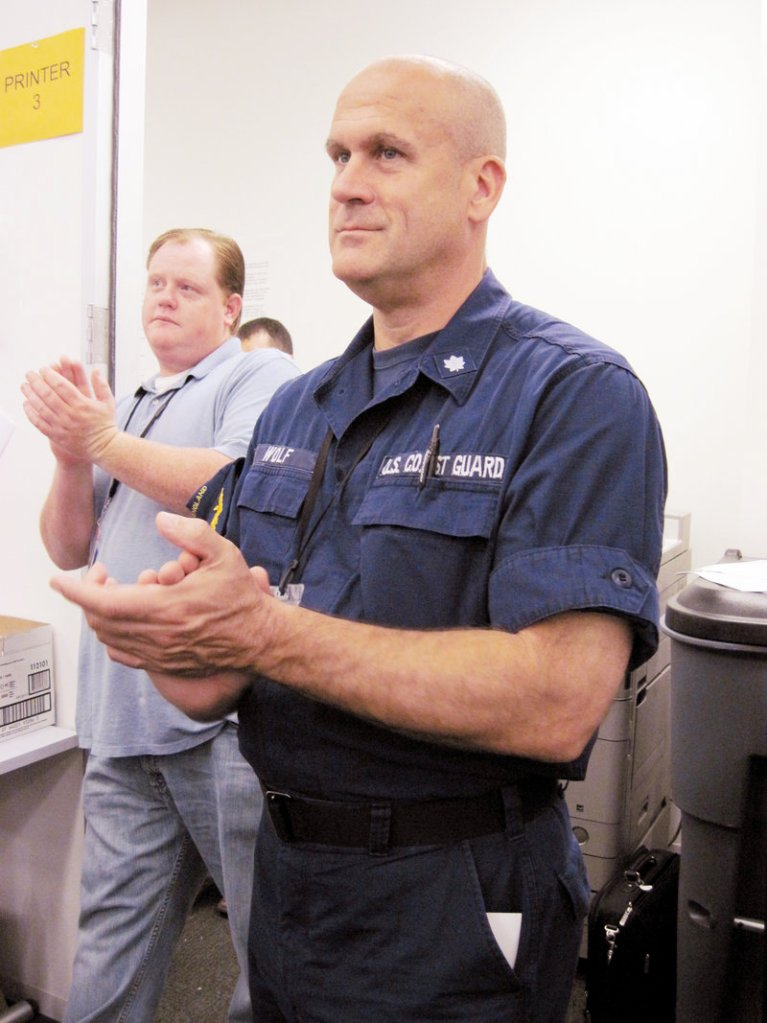 USCG Cmdr. Paul Wolf, Scarborough resident