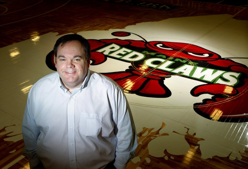 Jon Jennings, the president, general manager and part owner of the Maine Red Claws, has a passion for basketball that developed while he was growing up in Indiana.