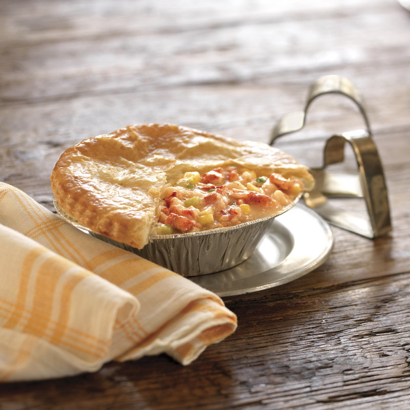 The owners of Stonewall Kitchen in York teamed up with Maine lobstermen to develop a line of products that includes this lobster pot pie.