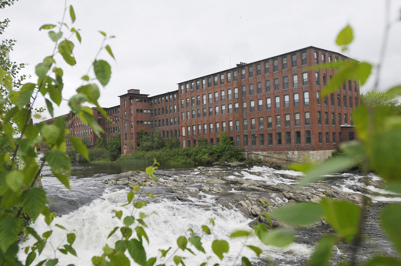 The Dana Warp Mill, overlooking the Presumpscot River in Westbrook, has been sold to a N.H. developer.