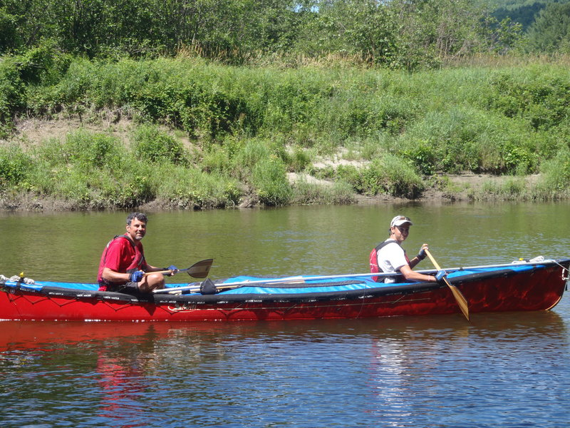 Russ and Jeremy Collett paddled – and portaged – 740 miles on the Northern Forest Canoe Trail earlier this summer.