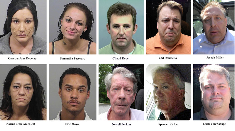 11 arrested in Cumberland County prostitution sting - Portland Press