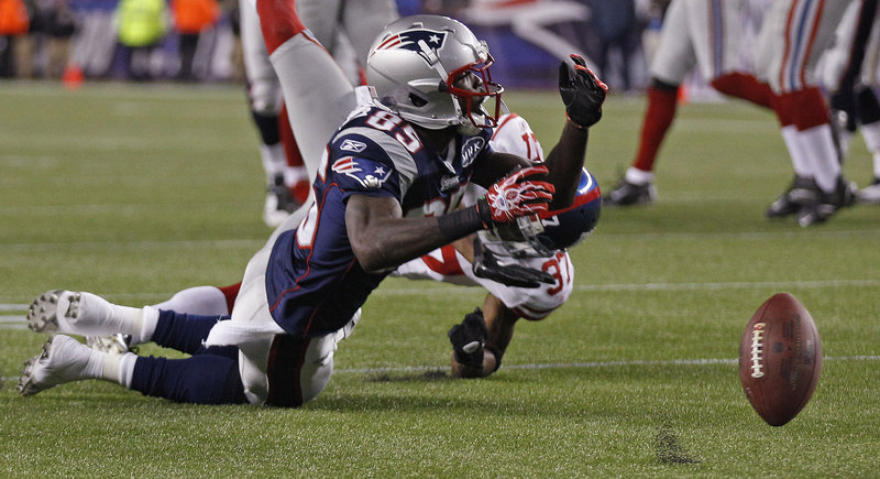 Chad Ochocinco had no receptions Sunday for the third straight game – but at least he had five passes thrown his way as the Patriots try to make him more a part of the offense.