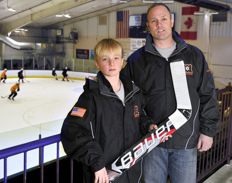 Doug Friedman had the opportunity to play in Sweden when he was a youngster, and now his son, Jaxon, will do the same next week as a goalie for the Junior Maine Mariners when they participate in the Nicklas Lidstrom Cup.