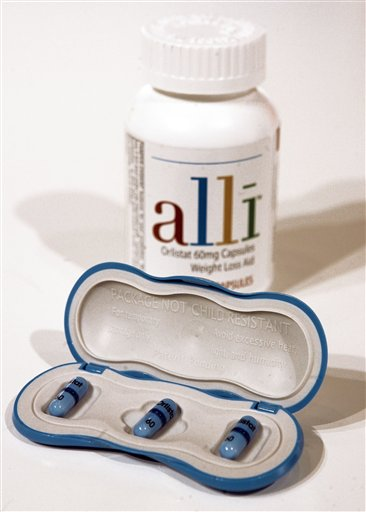 GlaxoSmithKline's alli is the first over-the-counter diet pill approved by the Food and Drug Administration. The battle of the bulge so far has been a big failure for U.S. drugmakers. But that hasn't stopped them from trying.