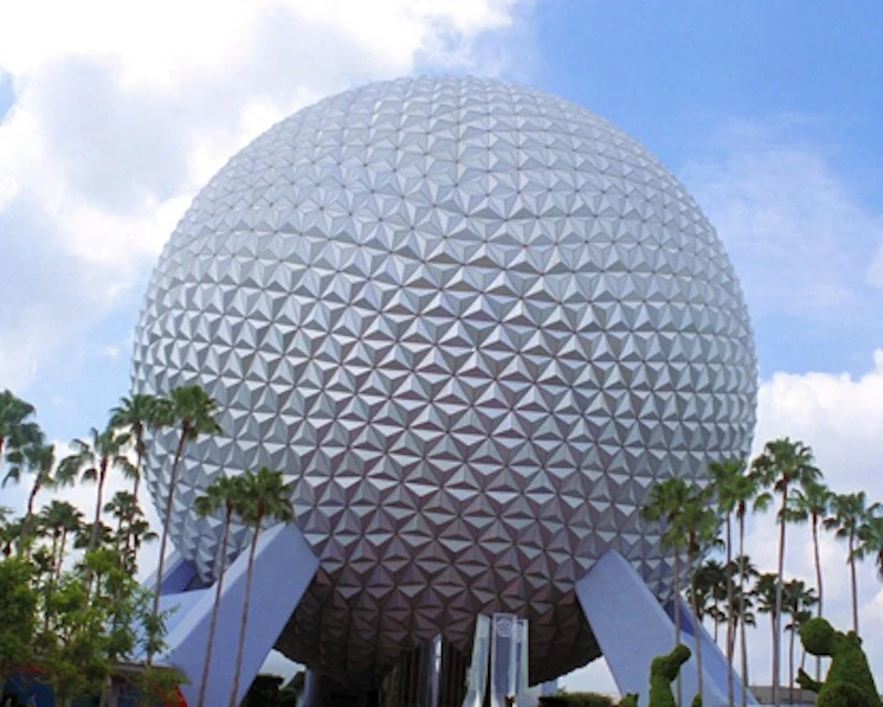 This photo depicts the Epcot Center in Orlando, Fla. Disney closed its new Habit Heroes exhibit at Epcot before it even officially opened because it was criticized for its insensitivity.