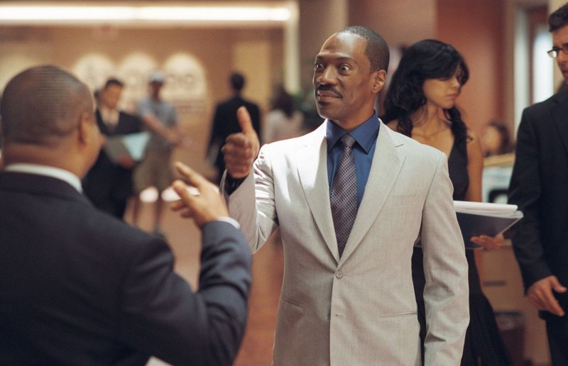 "Eddie Murphy as literary agent Jack McCall in ""A Thousand Words."""