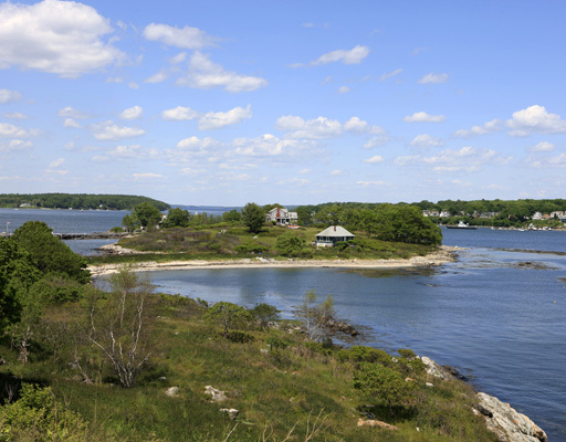 House Island has three cottages on it.
