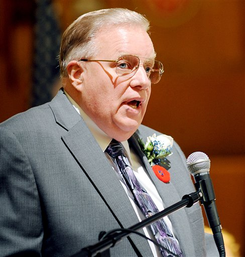 Lewiston Mayor Robert Macdonald says if the public can get information about people who receive public pensions, they should be able to do the same for welfare recipients. 2012 Associated Press file photo