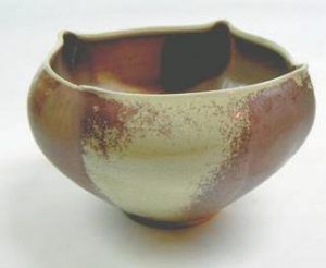 AN EXAMPLE of the potter y pieces on view this weekend.