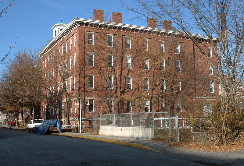 The apartment complex where Samantha Folsom lived is called Place Ste. Marie, located at 64 Oxford St. in Lewiston.