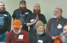 THE BEST BEARD CONTEST was a big attraction at the Ice & Smelt Festival in Bowdoinham last year.