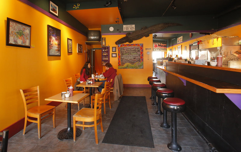 The Bayou Kitchen is a popular spot with diners who favor the blend of Cajun and Creole flavors it applies to its breakfast and lunch options.