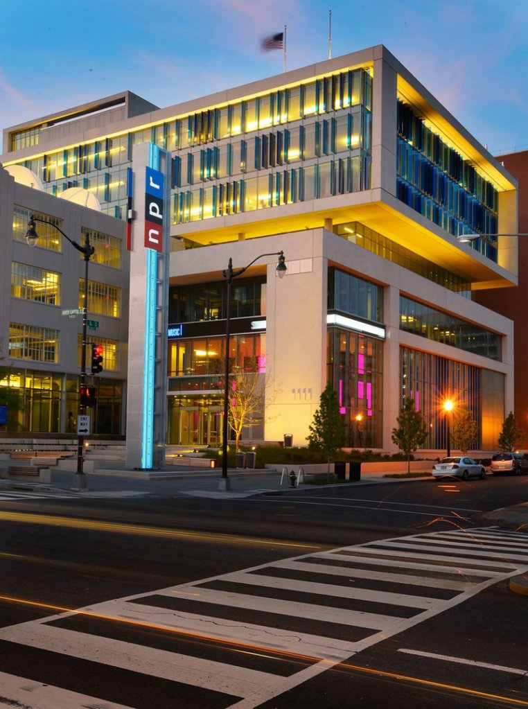 The new headquarters for National Public Radio in Washington, D.C., was also granted a tax abatement worth $40 million and a 20-year property-tax freeze.