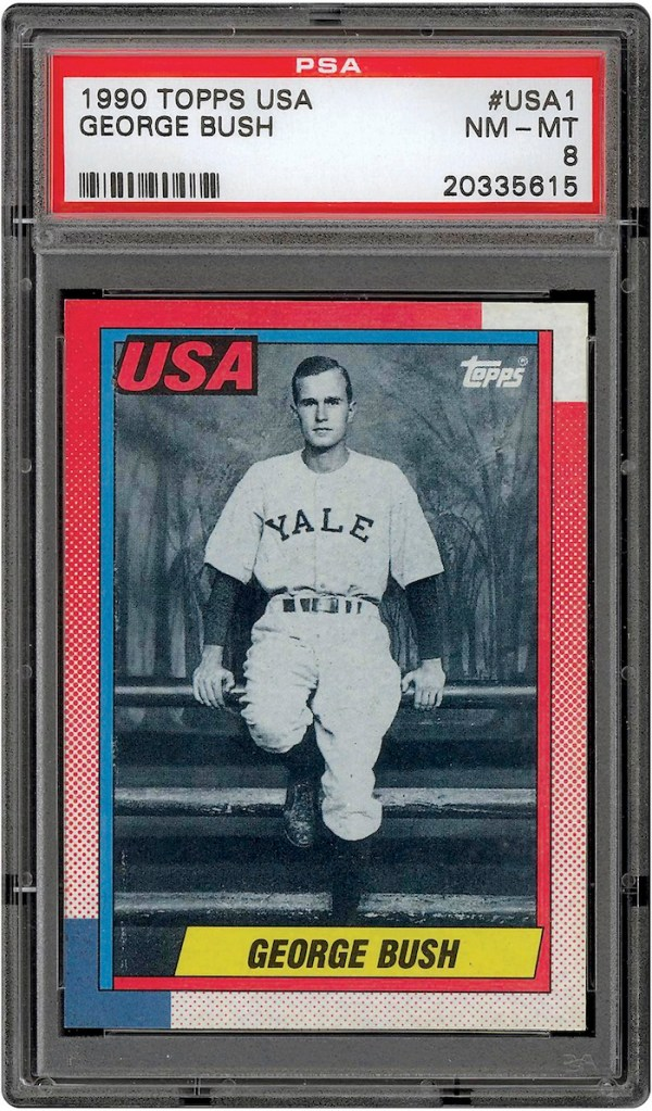 Fake George Bush Baseball Cards Could Cost Some Collectors