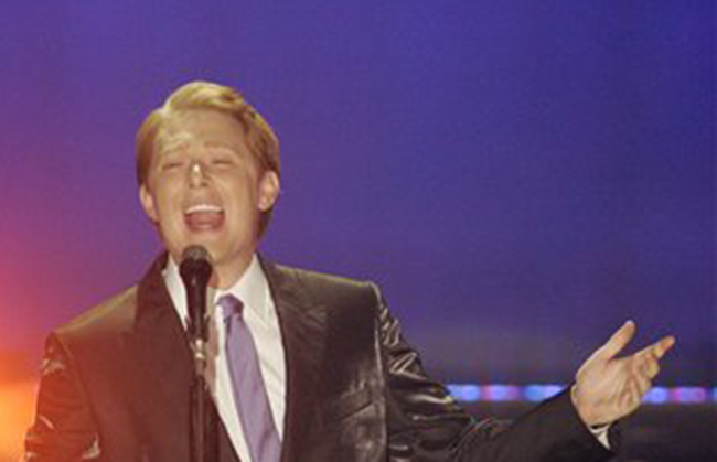 Clay Aiken performs in Raleigh, N.C., in this 2010 photo.