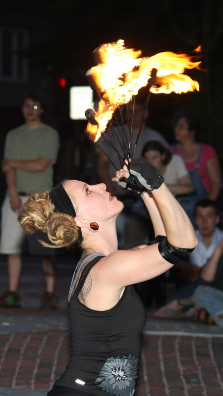 The Dark Follies performances on Friday and Tuesday in Portland will include the troupe's full range of acts, including something with fire, said founder Joie Grandbois.