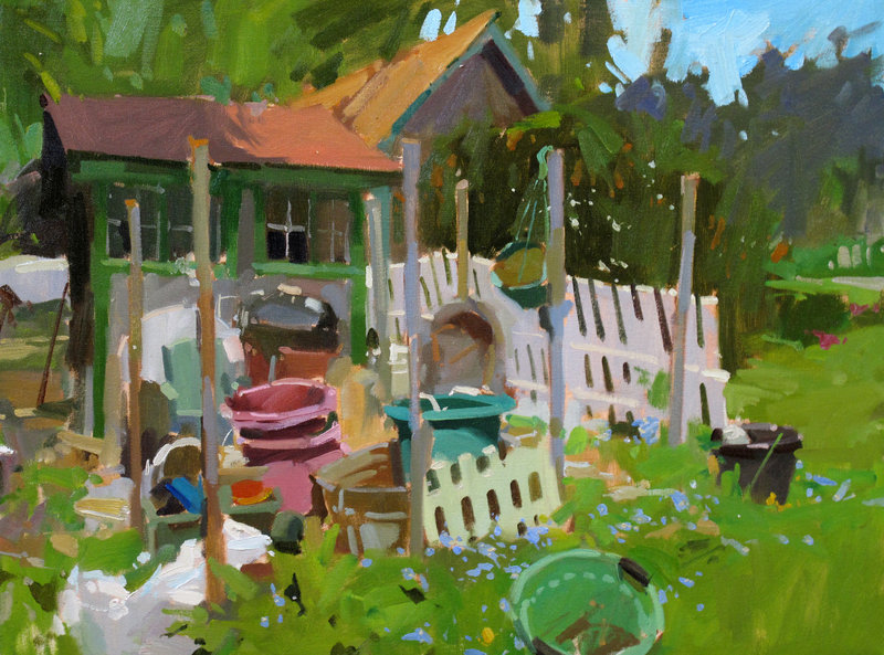 """""""Howard's Garden,"""" by Colin Page"""