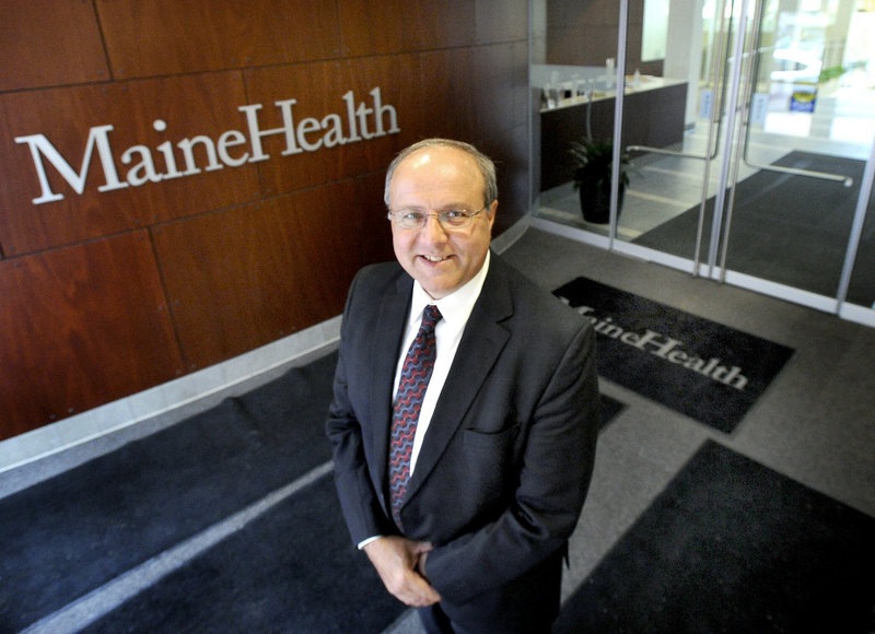 "William Caron, CEO of MaineHealth: ""We are changing the way care is being provided on the (Boothbay) peninsula, and it's going to be the best care in the state of Maine when we're done."""