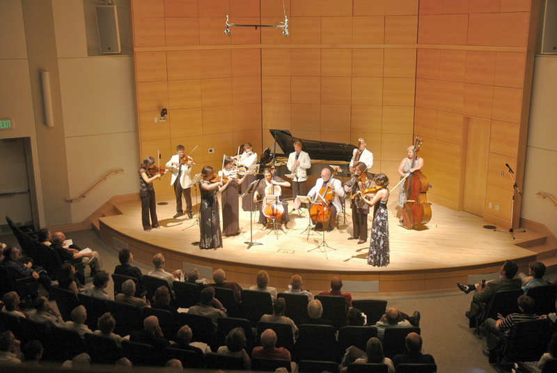 A PCMF concert in 2012