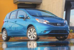 The all- new Nissan Versa Note is surprisingly big inside.