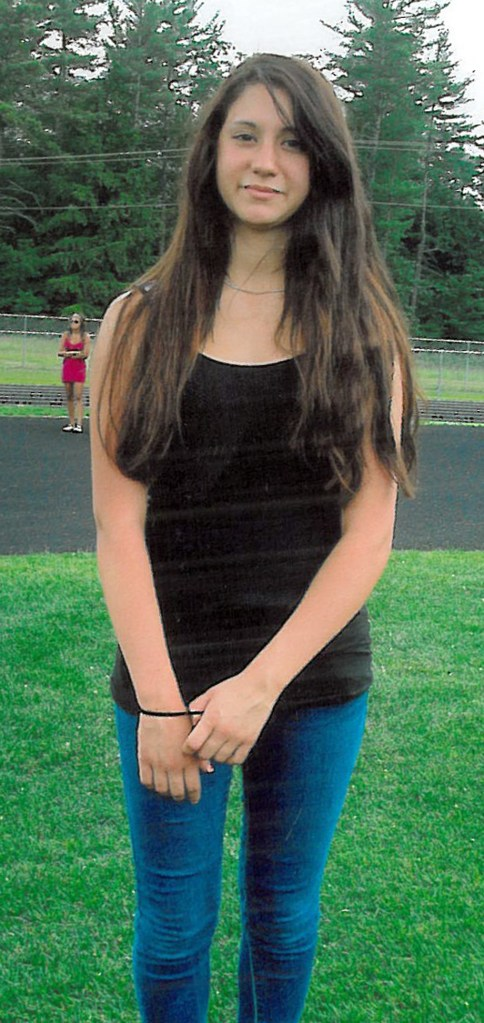 Officials are searching for 14-year-old Abigail Hernandez of North Conway, N.H., who was last seen Wednesday afternoon leaving school.