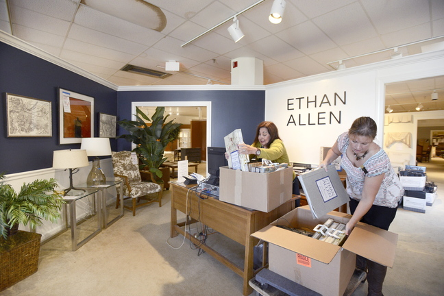 ethan allen furniture heads for