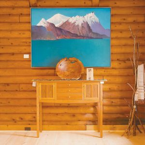 """THE PORTAGE COMPANY, a new business located at 813 U.S. Route 1 in Woolwich, offers Maine-made home furnishings and fine art. Owner Jeff Peters, the founder/owner of Georgetown Pottery, said, """"We feature only Maine artisans and seek to find works that are truly one-of-a-kind and will be cherished for generations. We also help our customers select an appropriate artist to complete their custom project."""" The business is open every day, 10 a.m. to 5 p.m., and can be reached at 443-1058. Future plans include further developing the store's collection of artists, woodworkers, metalsmiths and craftspeople. The Portage Company also hopes to feature the home furnishings and fine art of Maine's talented and lesser-known artisans."""
