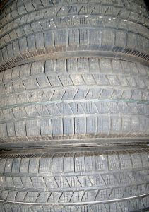 Summer tires need a clean, dry, and dark place to be stored in winter.