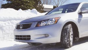 There are different kinds of winter tires for different purposes. Ask your dealer about what is best for you.