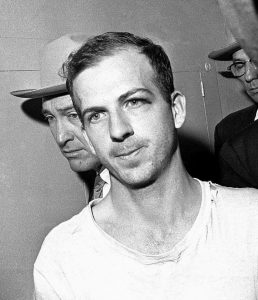 LEE HARVEY OSWALD in custody.