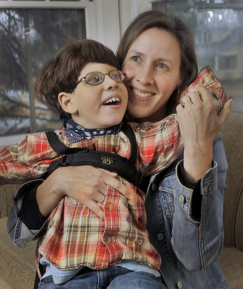 Christy Shake of Brunswick is battling misconceptions about medical marijuana's use and its effects on her son, Calvin. She's petitioned the president and lawmakers to remove it from the list of Schedule 1 drugs.