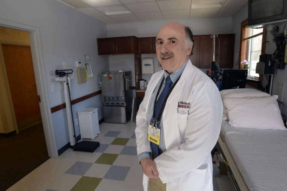 "Dr. Irwin Brodsky of the Maine Medical Center Research Institute is part of a national trial on Vitamin D and diabetes. ""Maine doesn't have these kinds of large medical trials very often. ... We can hopefully get more of them,"" Brodsky said."