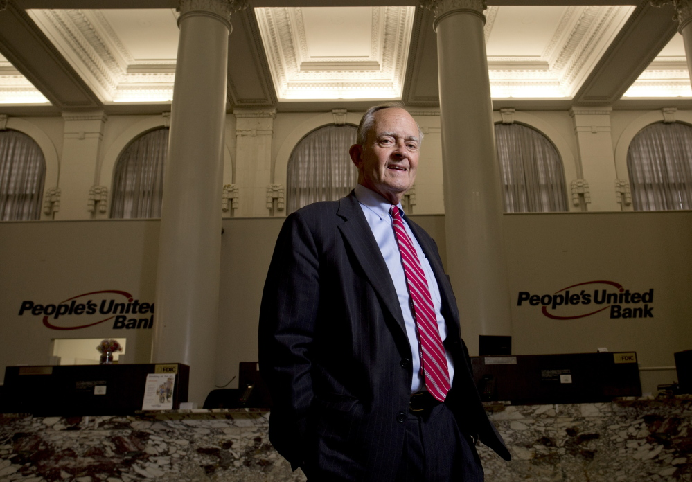 Samuel Ladd III, a fixture in Maine's banking community and co-founder of Maine Bank & Trust, retired last month as vice chairman of Maine operations for People's United Bank.