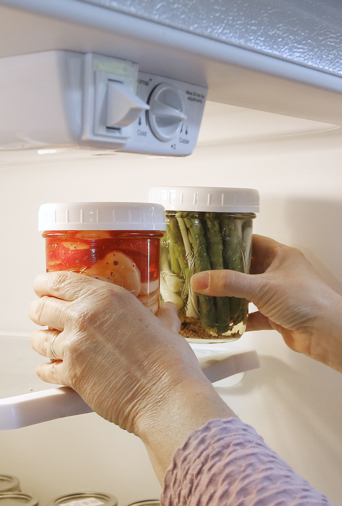 Step 4: Refrigerate and wait