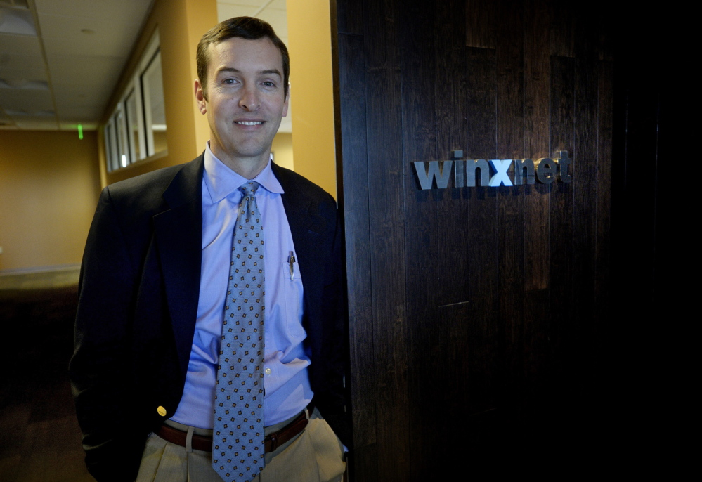 Chris Claudio, Winxnet's CEO
