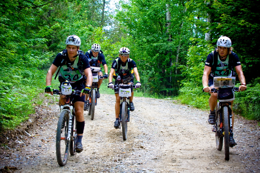 cycling: Participants in the Untamed New England Adventure Race test their skills in a number of outdoor activities in the 200-mile event, including biking.