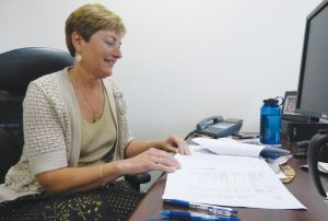 Diane Barnes is the new town manager for Lisbon.