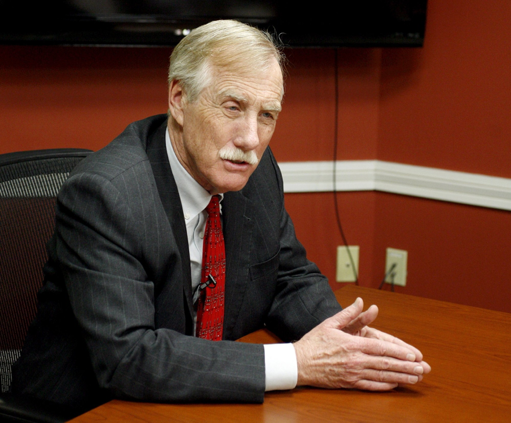 U.S. Sen. Angus King has co-sponsored legislation to simplify repayment of student loans.
