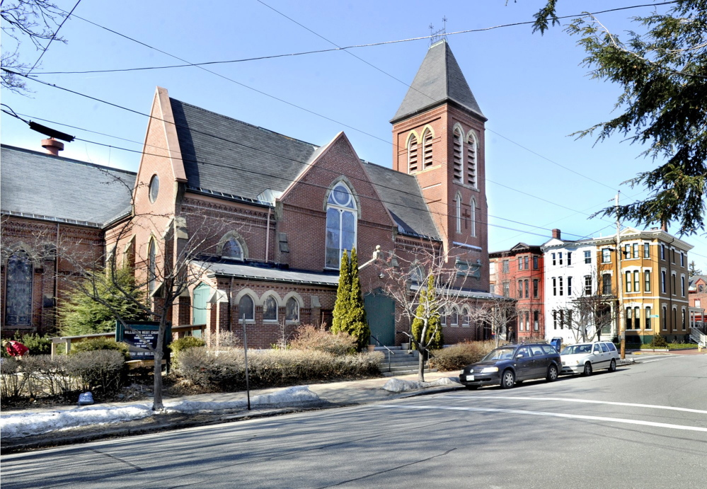 A court ruling Tuesday clears the way for redevelopment of the parish house of the former Williston-West Church on Thomas Street in Portland.