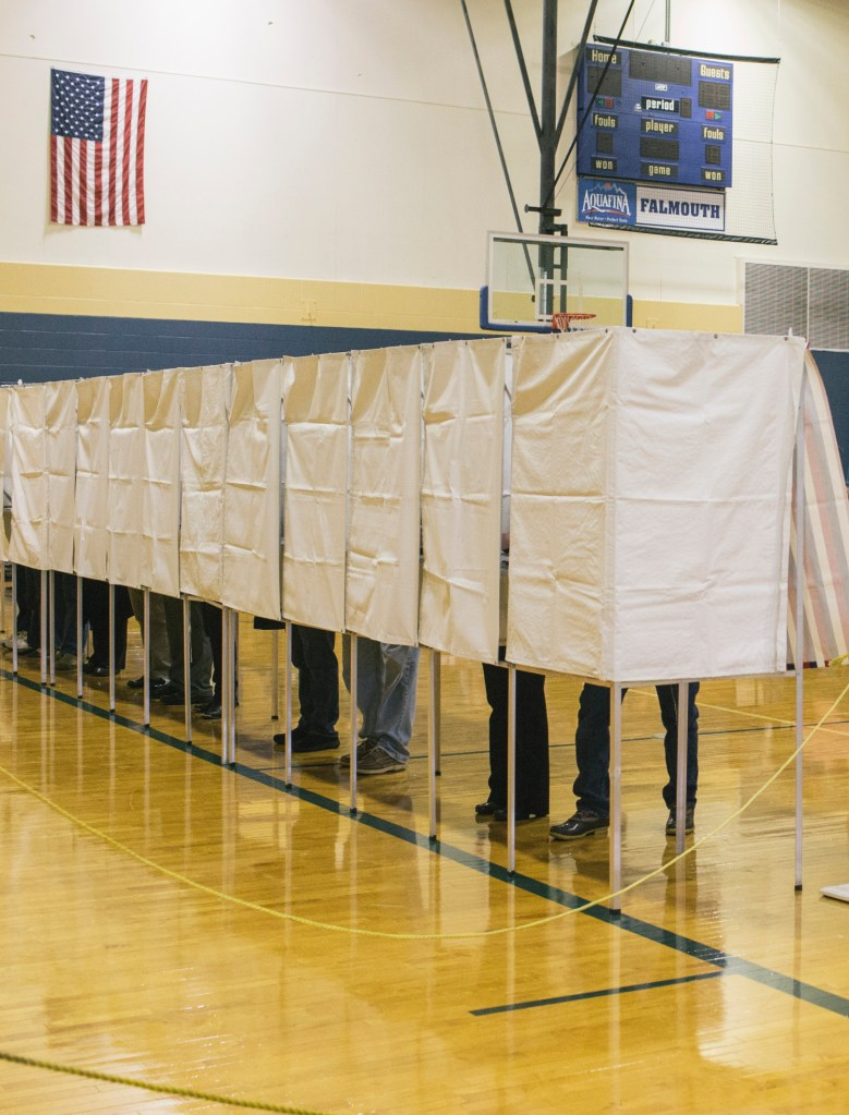 Election Day turnout across Maine expected to approach 60