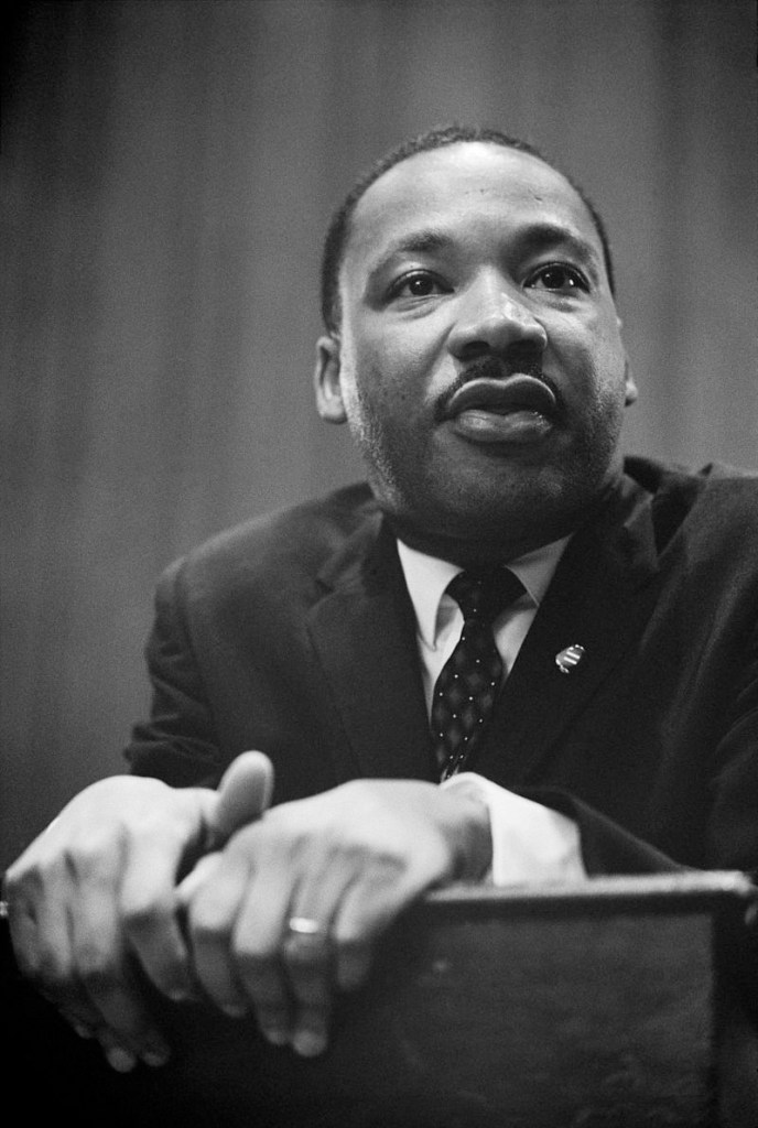 "In his 1964 book, ""Why We Can't Wait,"" Dr. Martin Luther King wrote: ""Our nation was born in genocide when it embraced the doctrine that the original American, the Indian, was an inferior race. Even before there were large numbers of Negroes on our shore, the scar of racial hatred had already disfigured colonial society."""