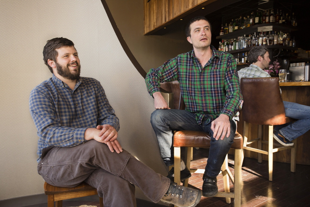 Andrew Taylor and Mike Wiley of Eventide's and Hugo's are among Maine restaurateurs who are up for the James Beard Foundation awards. They are nominated as a duo for Best Chef: Northeast.