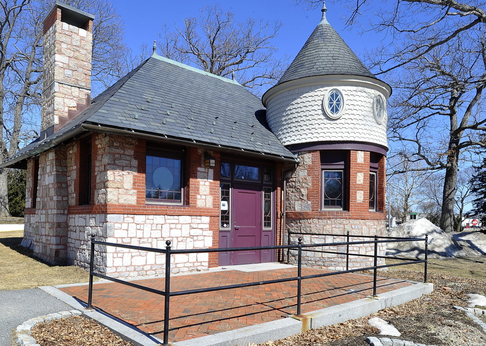 The castle building in Deering Oaks has just 750 square feet of interior space, so Deen Haleem, co-owner of Tiqa, says most of the food will be prepared at his restaurant on Commercial Street.