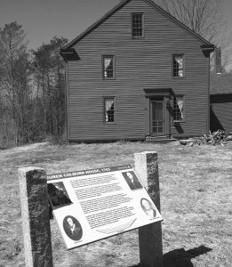 THIS PHOTO SHOWS the 1765 home of Reuben Colburn in Pittston, 10 miles south of Augusta. It was here, near the banks of the Kennebec River, that Colburn built nearly 200 wooden bateaux for an expedition on the river led by Benedict Arnold. Arnold, who later became a traitor in America's War of Independence against Great Britain, slept in Colburn's home.