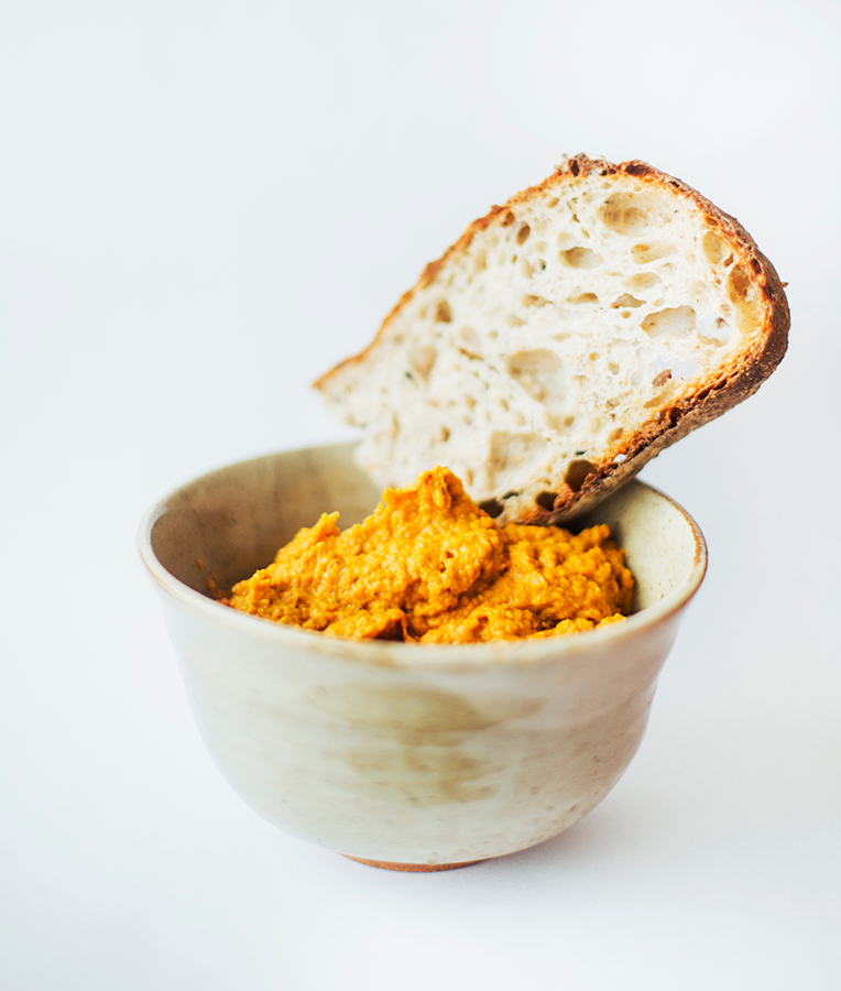 Carrot dip in Portland. Whitney Hayward/Staff Photographer