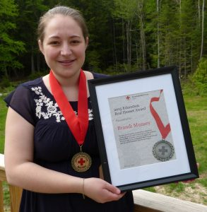 BRANDI MUNSEY of Richmond was recently honored by the American Red Cross with its Education Real Heroes Award.